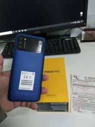 POCO M3 64GB E 4 GB RAM NOVO NOTA FISCAL