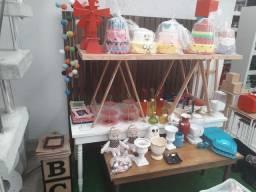 Bazar venda de peças e mesas