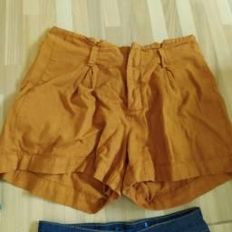 Shorts Bege - sem avaria