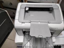 Impressora hp laser jet P1102 monocromática seminova