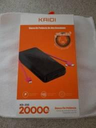 Bateria portátil Kaidi 20.000mhA