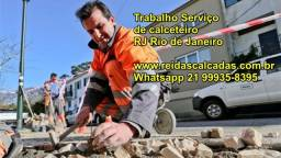 recuperação de calçadas em pedra portuguesa rj rio de janeiro