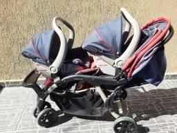Carrinho de bebê ( gêmeos )