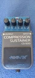Pedal Compression Sustainer c/ fonte multa conexão