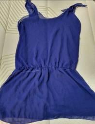 Vendo roupa de banho na cor azul