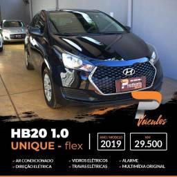 Título do anúncio: Hyundai HB20 1.0 unique (Baixa Km) **Impecável**