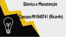 Eletricista e manutenção