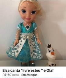 Boneca Elsa canta