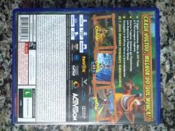 Jogo de PS4 - Crash Nsane Trilogy