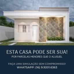 Casa financiada pela caixa, Ribeirão Preto e região.