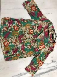 Camisa estampa floral