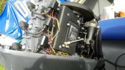 Motor 60 HP Yamaha 2014 conservadíssimo