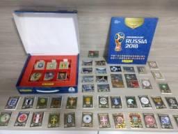 [NOVO] BOX Álbum Copa do Mundo 2018 Capa Dura + Todas as 681 Figurinhas