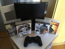 PlayStation 3 semi novo!