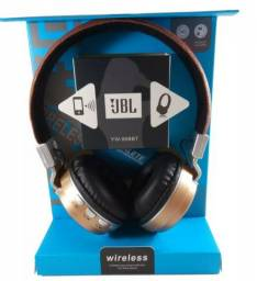 Headphone Com Revestimento Couro Bluetooth Yw998bt Importado