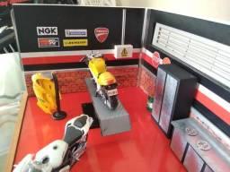 Diorama oficina de moto