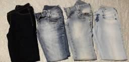 Vendo 4 calças por 150 reais