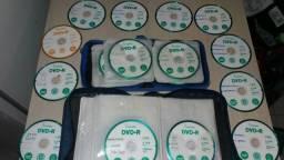 90 CDs jogos ps2 por apenas 1,10 um real e dez