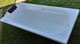 Banheira em fibra comprar usado  Lins