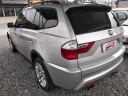 BMW X3 2007/2007 2.5 SI FAMILY 4X4 24V GASOLINA 4P AUTOMÁTICO - 2007