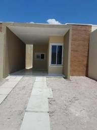 CA1751 Residencial Castelo III, casa plana com 3 quartos, 2 vagas, amplo recuo, Itaitinga