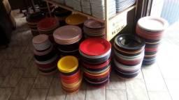 Ceramicas saldos 2 linha pratos xicaras canecas tigelinhas