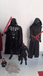 Kylo ren + darth Vader os dois