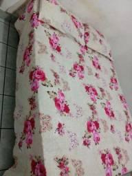 Colcha de cama com duas fronhas