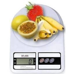 Título do anúncio: Balança Digital Cozinha 10kg Branca Alimentos Alta Precisão