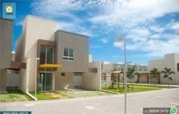 Casa com 140m², 3 Suítes - Condomínio no Eusébio