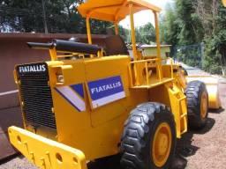 Pa carregadeira fiatallis fr12 fr 12 b articulada ano 1995 motor transmissão clarck