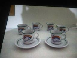 Mini xicaras de cafe antigas