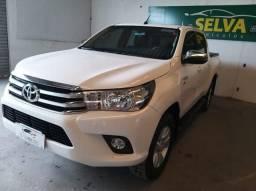 Toyota Hilux Cd 4x4 Srv 2.7 2018 Gasolina