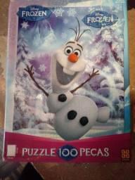 Quebra-cabeças frozen 100 peças