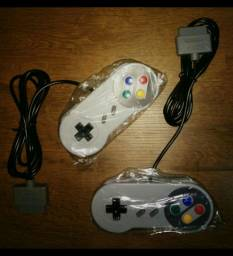 2 controles Super Nintendo (snes)