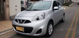 Nissan March 1.0 Sv 2019 10.000 Kms Único Dono Impecável
