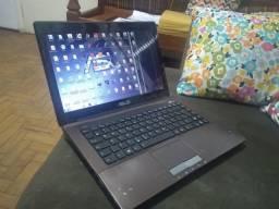Notebook Asus Core I5 4gb RAM HD500 bateria Ok