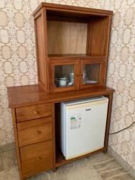 Estante para frigobar e microondas