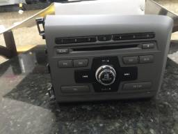 Rádio Cd/mp3 Player Original Honda 2014