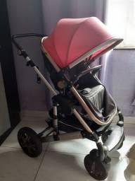 Carrinho bebê super Luxo ROSA !!