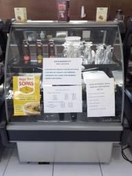 Balcões para lanchonete, bar ou cafeteria (seco, com estufa e refrigerado)