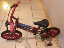 Bicicleta Infantil Carros