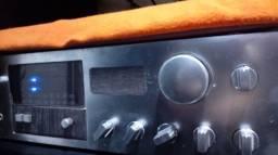 Amplificador Gradiente 366 e 2 caixas