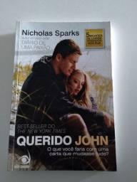 Livro Querido John de Nicholas Sparks
