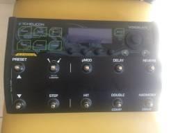 Pedaleira Voice Live 3 Extreme com case, novíssima (nunca usada ao vivo, só em casa)