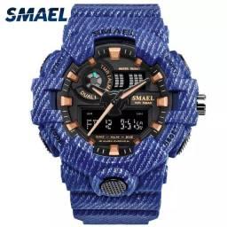 Smael Original G Shock digital e analógico