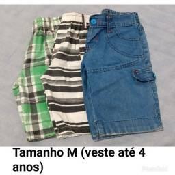 Desapego / Bermudas + Camisas (Infantil) / Não faço entrega
