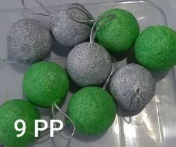 59 bolas de Natal artesanais