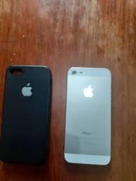 Vendo IPhone 5 ou troco com volta pra mim ( Contato *)