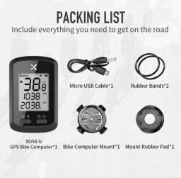 Ciclocomputador Xoss G GPS (sincroniza com Strava)